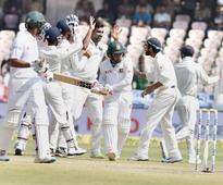 R Ashwin gets 'Milestone Match ball' signed by Mushfiqur Rahim