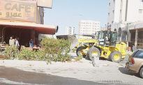 Municipality razes 18 cafes