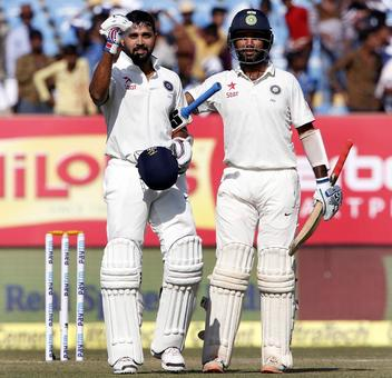 The Vijay-Pujara partnership: 13 centuries and counting...