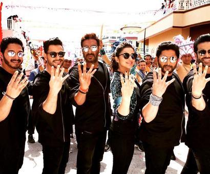 Review: Rohit Shetty's Golmaal Again!!! is a spirited affair!