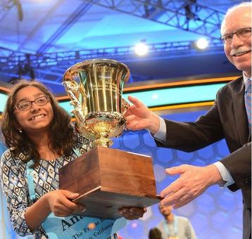 Ananya, 12, takes home Spelling Bee title