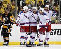 Rangers respond, top Penguins...