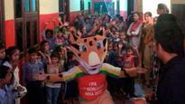 FIFA U-17 WC celebrates World Food Day with Feeding India