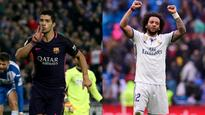 WATCH | La Liga wrap: Luis Suarez double keeps Barcelona top after late Marcelo strike rescues Real Madrid