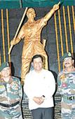 Lachit statue installed at Dinjan military base