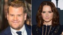 Ridley joins Corden for Peter Rabbit film