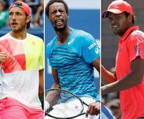 US Open 2016: Lucas Pouille joins fellow Frenchmen Jo-Wilfried Tsonga, Gael Monfils in quarters