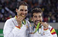 Rafael Nadal wins gold in men's doubles at Rio Olympics