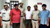 Three held for robbing Faridabad man