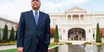 Philanthropist Frank Islam offers Gandhian healing mantra to Americans