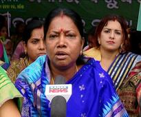 Pramila again denies farmer suicide in Odisha, targets opposition