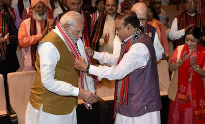 Tripura ideological win; changed party's, country's mood: Modi