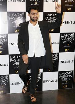 Pics: Indian kabaddi heroes turn fashion models