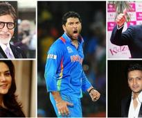 This is how Bollywood reacted to Yuvraj's comeback hundred