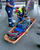 Durban man breaks both arms in plunge from building