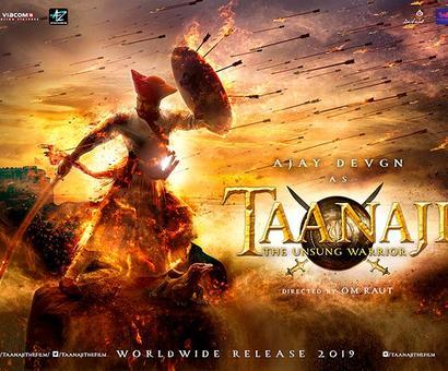 First look: Ajay Devgn in an as Taanaji