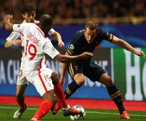 Tottenham were knocked out of the Champions League as they were comprehensively outclassed by Monaco at Stade Louis II
