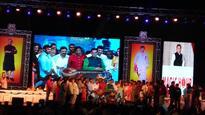 Mohan Babu 40 years of film life celebrations in Vizag: Chiranjeevi, Venkatesh, Sridevi, Jayapradha, others attend it