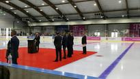 Tiriac inaugurates ice skating rink worth 3.6 mill euros built in three months in Otopeni