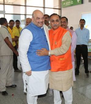 Vijay Rupani to be Gujarat CM, Nitin Patel to be his deputy