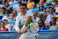 Raonic rips Pospisil in first all-Canada final