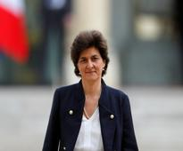 French defence minister Sylvie Goulard announces resignation over fake jobs scandal