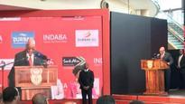 Jacob Zuma regales audiences with humour at Indaba 2017 inaugural