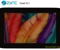 Android 4.1-Based Zync Quad 10.1 Tablet With Full HD IPS Screen Launched For Rs 14,990
