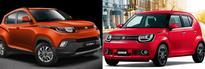 Maruti Suzuki Ignis vs Mahindra KUV100; everything you need to know