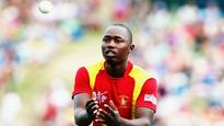 Zimbabwe's Tendai Chatara ruled out of Test series against New Zealand