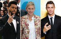 Forbes list of world's highest-paid celebrities of 2017