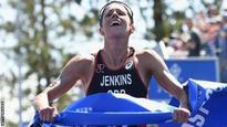 Jenkins secures third GB triathlon spot