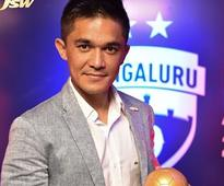 Chhetri, Johnson, Lyngdoh scoop awards at Bengaluru ...