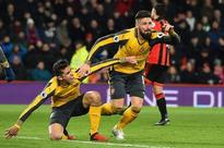 Down three, Arsenal storm back to level in stoppage time on Olivier Giroud header: Premier League results and round-up