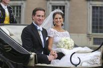 Sweden celebrates royal wedding