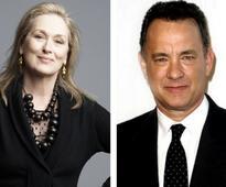 Steven Spielberg begins filming Tom Hanks, Meryl Streep