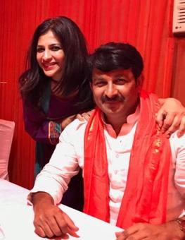 Everyone loves a winner: Manoj Tiwari's big day after BJP's spectacular results
