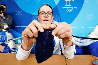 Winter Olympics sidelights: Finland's knitting passion is latest Pyeongchang yarn