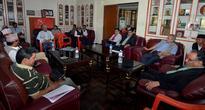 Maoist Centre authorises Dahal for impeachment decision