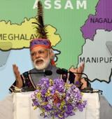 Govt focusing on development of North East: PM