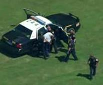Shooting reported near Fort Sam Houston, Texas, woman hit, suspect in custody
