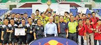 Brunei teams for Red Bull futsal