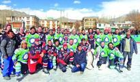 HF USA wins Indo-Canadian Ice Hockey Friendship Cup