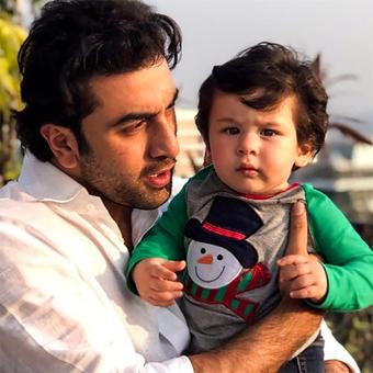 Taimur, the star of the Kapoors' Christmas brunch