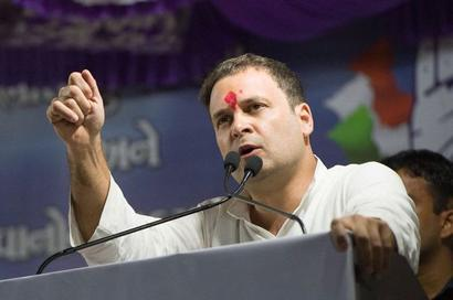Why is development missing in PM's speeches: Rahul