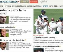 How Australian media hailed the win that no one saw coming