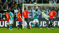 Former winners Germany and Spain draw 1-1 in friendly ahead of FIFA World Cup 2018