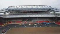 Countdown to new Anfield - timelapse video shows Liverpool's new stand nearing completion