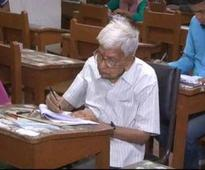 This Indian is the oldest enrolled for an MA programme