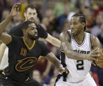 San Antonio nips Cavaliers in OT